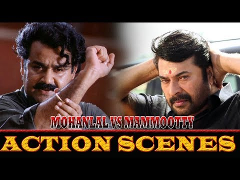 Mohanlal & Mammootty action scenes |...