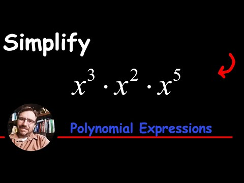 Multiplying Monomials Using The Rules Of Exponents (Add Exponents Here)