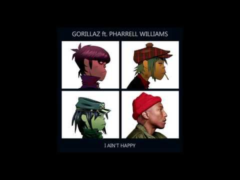 Gorillaz vs. Pharrell Williams - I Ain't Happy