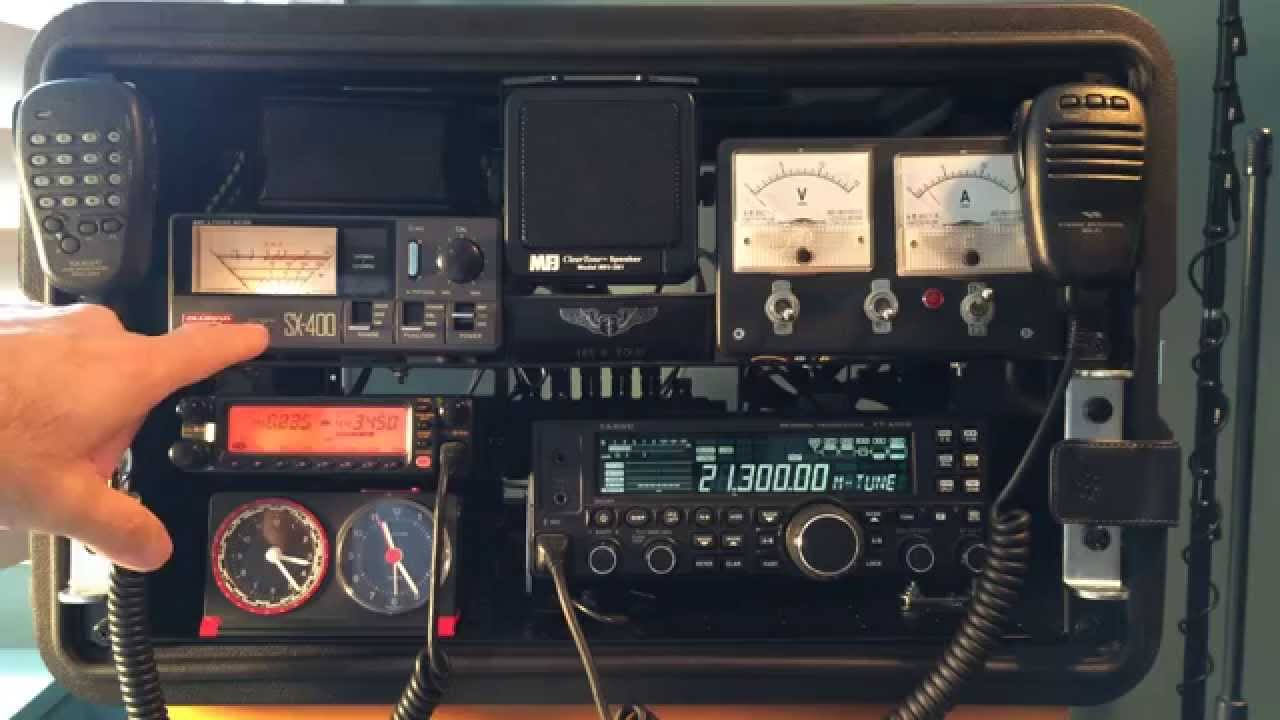 Ham Radio Go Kit W Handhelds And Component Diagram Youtube