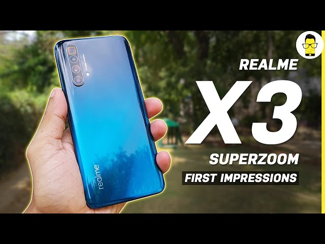 Realme X3 SuperZoom Unboxing and First Impressions: A Flagship Killer's Killer?