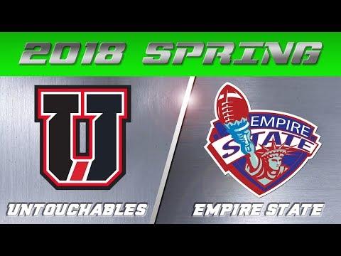 2018 TUFF9 Spring Season | Untouchables vs Empire State