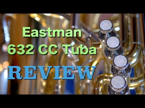 Eastman 632 CC Contrabass Tuba Review - 1080P HD
