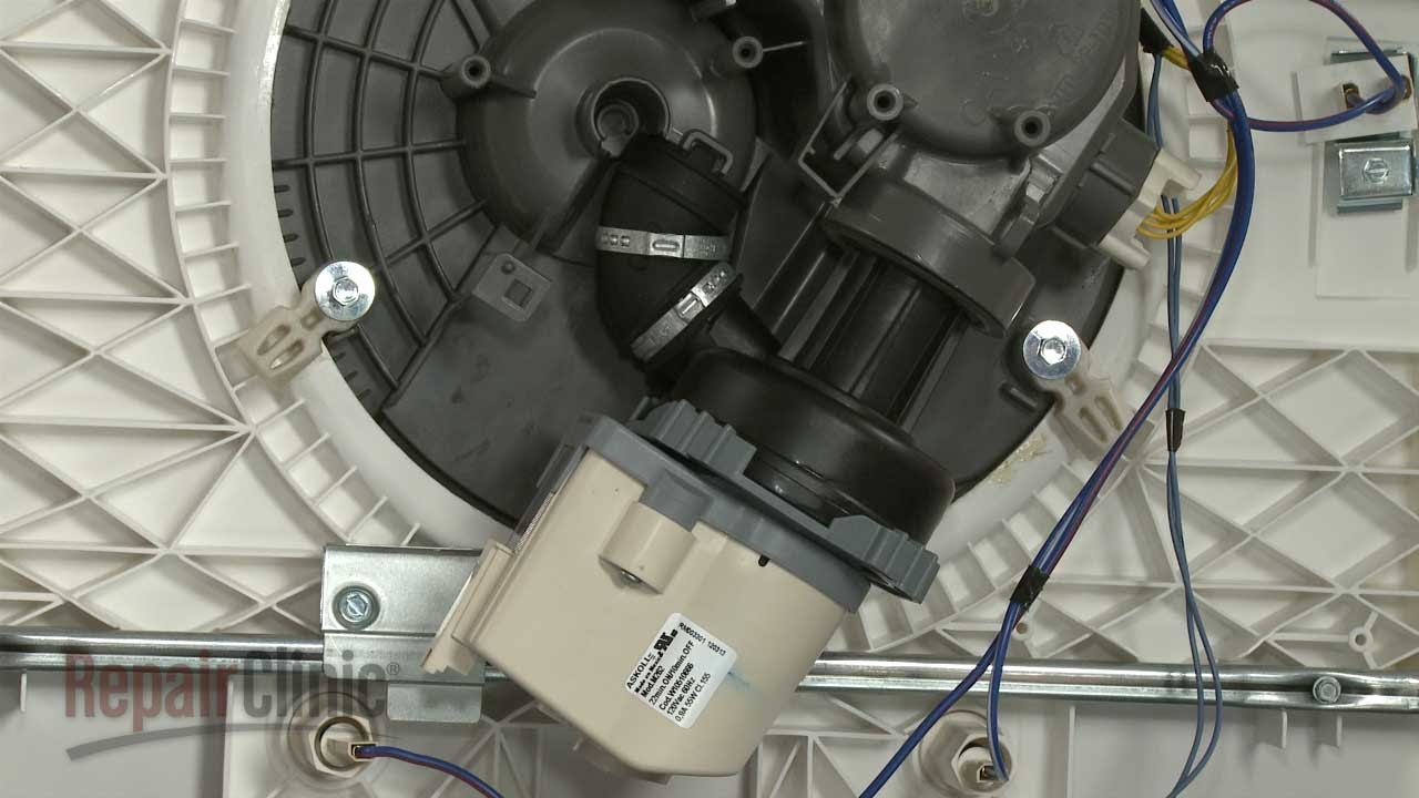 whirlpool dishwasher water valve wiring harnes part [ 1280 x 720 Pixel ]