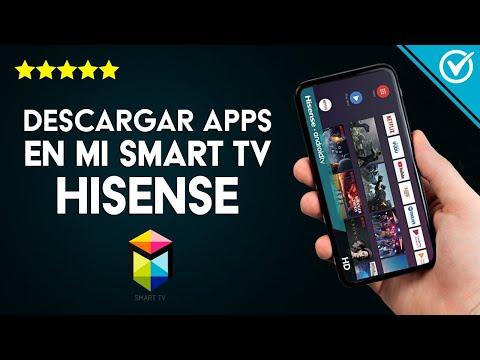 Cómo Descargar e Instalar Aplicaciones y Juegos en mi Smart TV Hisense Desde Play Store