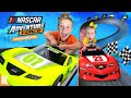 Kids Race at NASCAR (with Adventure Force Crash Racers!)