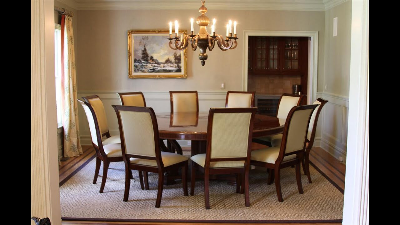 Large Dining Room Table Seats 10 Large Round Dining Table Seats 10 Design Uk Youtube
