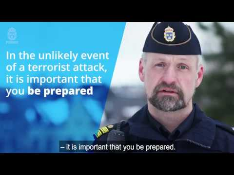 Video: Information on how the public should act in the event of an attack