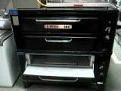For Sale 911 Model Blodgett Pizza Oven Used Bb9 Youtube