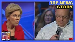 TOP NEWS! After This CRUSHING Question Warren Grabs the Mic With NEW BLAME For Fake Indian Scandal