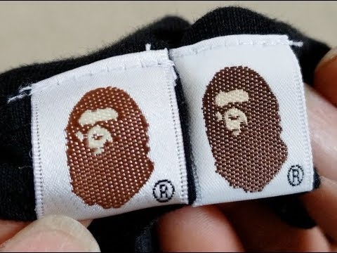 2d0151179 How To LEGIT Check BAPE Real vs Fake Full Tutorial! 4 3 2018 - YouTube