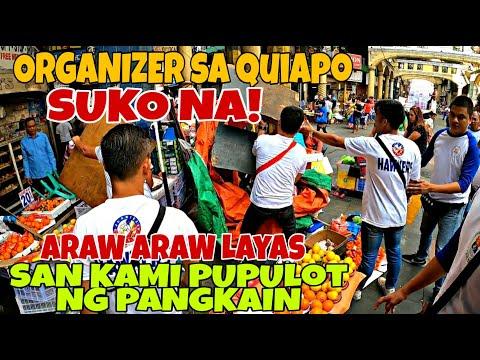 SUKO NA SILA! ORGANIZER DI NA ALAM GAGAWIN ARAW ARAW CLEARING! YORME ISKO| MANILA CLEARING OPERATION