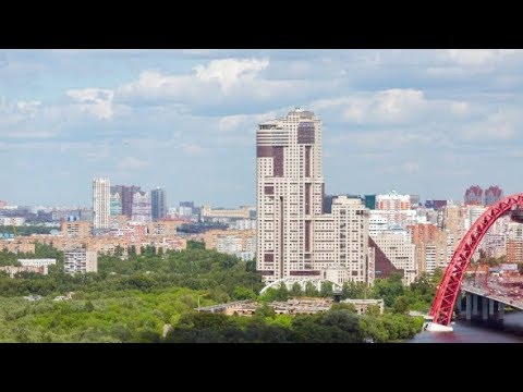 Moscow in Aerial View | Stock Footage - Videohive