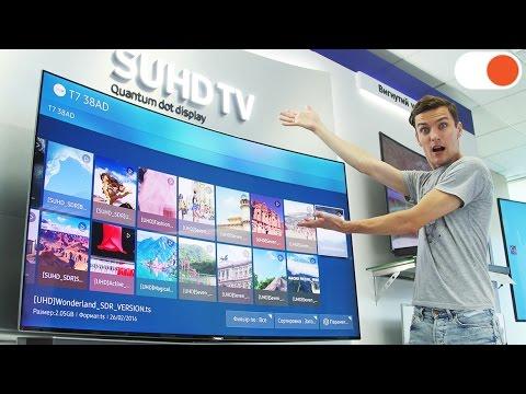 """видео: Основные """"фишки"""" телевизоров samsung 2016 года"""
