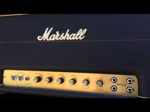 Marshall Major 1971 200 watt Amplifier Demo - Eastgate Music