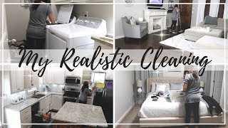 REALISTIC CLEANING  | MY EVERYDAY CLEANING ROUTINE | CLEAN WITH ME