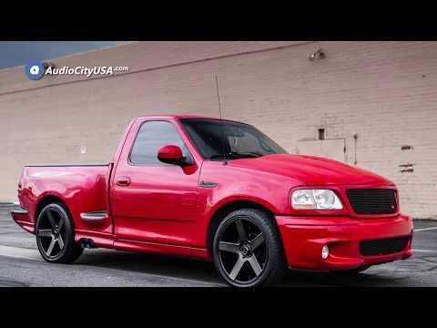 Ford Lightning SVT ″ DUB Wheels Baller S Black Machined Face Dark Tint Rims  AudioCityUSA
