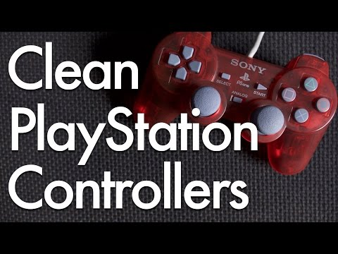 Cleaning Sony PlayStation & PlayStation 2 Controllers