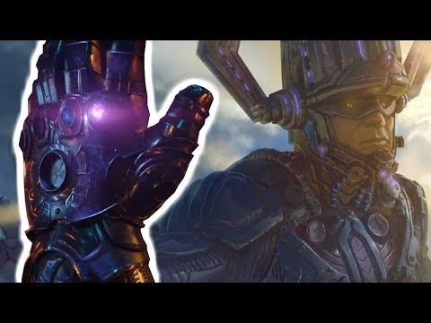 GALACTUS IS THE POWER STONE - Introducing GALACTUS In Phase 4 Theory