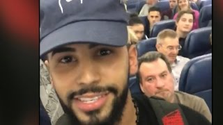 YouTube star: I was crying after being kicked off Delta flight for speaking Arabic(YouTube personality Adam Saleh claims he was escorted off a Delta flight for speaking in Arabic. The airline says it's investigating the incident, and that 20 ..., 2016-12-21T15:10:39.000Z)