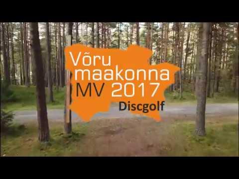 Võru maakonna meistrivõistlused discgolfis Final round, Lead card (Joakit, Raag, Tulev, Rahuoja)