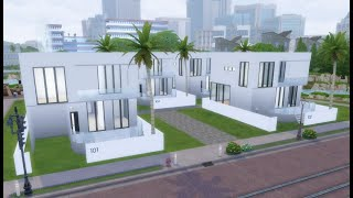 [심즈4|Sims 4] 풀빌라펜션 건축|speed bu…