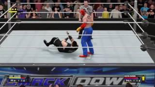 WWE2K17 Mi Carrera Cory Walker Debuta y Fatal-4 Way emocionante