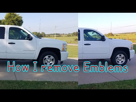 How To Debadge A Truck THE RIGHT WAY! | Doovi
