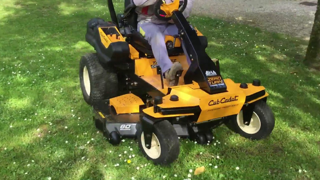 Z Force Cub Cadet Mulch Kit For 50 : Cub cadet tank sz mulching frontale professionale a
