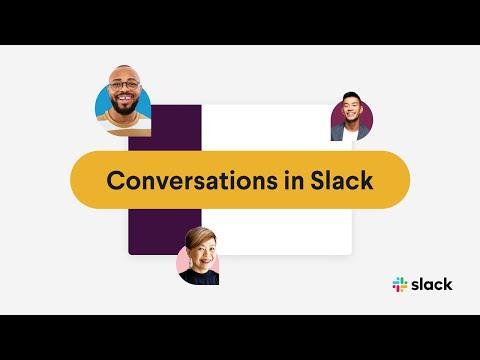 Conversations in Slack | Slack 101