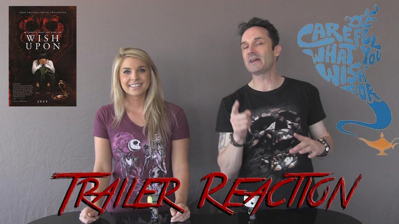 Download Wish Upon Trailer #3 Reaction @horrifyou