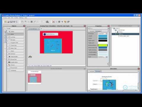 Graphics Display Designer X demonstration