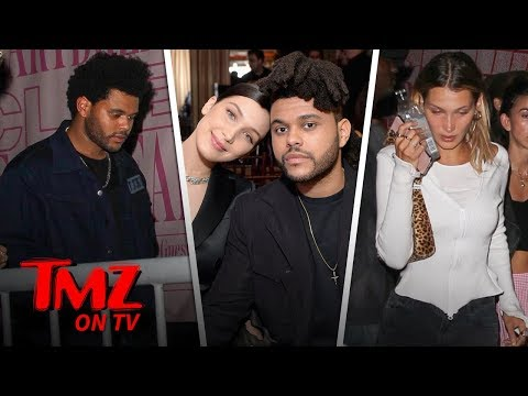 Bella Hadid Leaves Club Minutes After The Weeknd Shows Up  TMZ TV