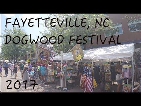 Fayetteville Dogwood Festival in North Carolina Spring 2017