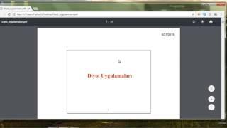 Google Chrome Tarayıcısını Kullanarak Pdf Dosyaları Bölme