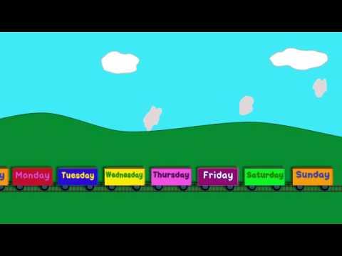 Trenulete - Zilele saptamanii