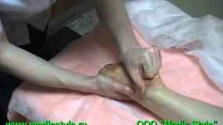 Массаж голени и стопы. Владимир Гущин  (Medic Style)