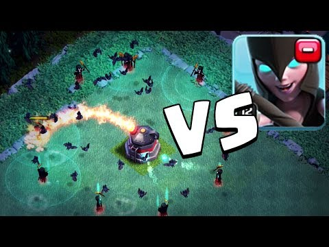 MAX NIGHT WITCH VS MAX ROASTER   Clash of Clans   NEW BH 6 Update Gameplay