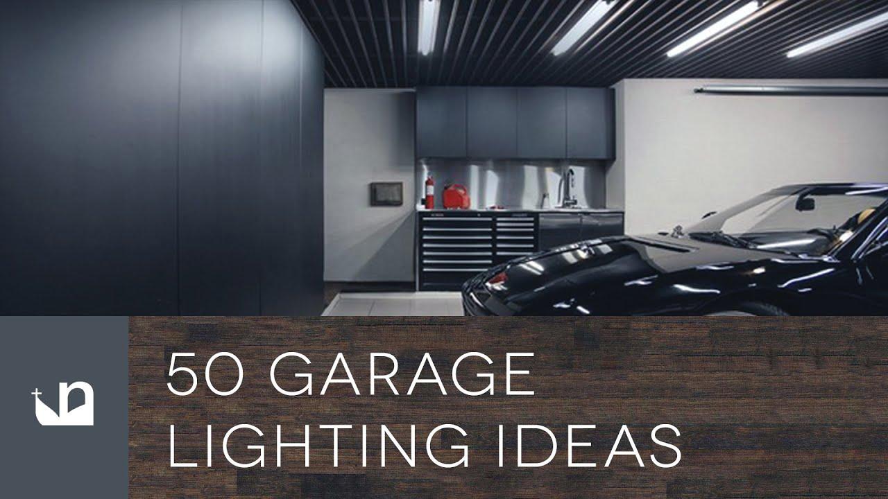 50 Garage Lighting Ideas For Men - YouTube