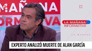 """Experto y muerte de Alan García: """"Me producen ciertos reparos los protocolos"""""""