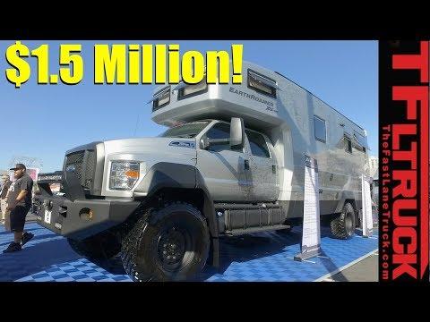 The Ultimate $1.5 Million EarthRoamer Luxury 4x4 RV Revealed