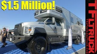 видео Ford F-750 Dunkel Luxury Hauler 4х4