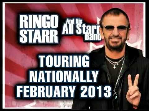 Ringo Starr And His All Starr Band - Australian Tour 2013 ...