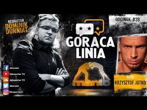 Krzysztof Jotko przed walką z Davidem Branchem | Gorąca linia #39