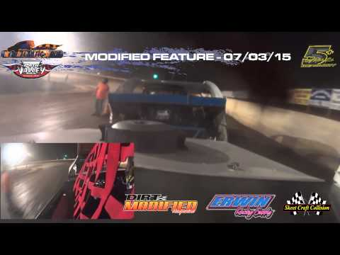 Path Valley Speedway/Mid-Atlantic Modifieds - Feature - In-Car - Craig Ramich 5+ - July 3, 2015