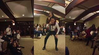 Best Wedding Dance Ever!!! The Three Amigos My Little Buttercup | The Girl Dad
