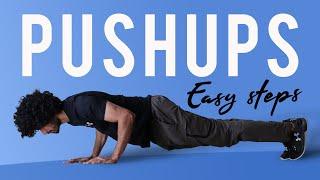 Easy PushUp  Steps for Beginners  ಕನನಡದಲಲ  Kannada Fitness Channel
