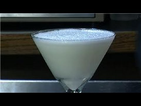 Martinis : How To Make A Drink Using Vodka And White Chocolate