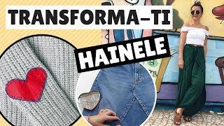 Cum sa iti transformi hainele vechi DIY Haine