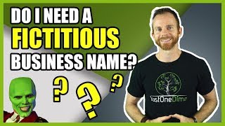 What is a fictitious business name and how do I file for it?
